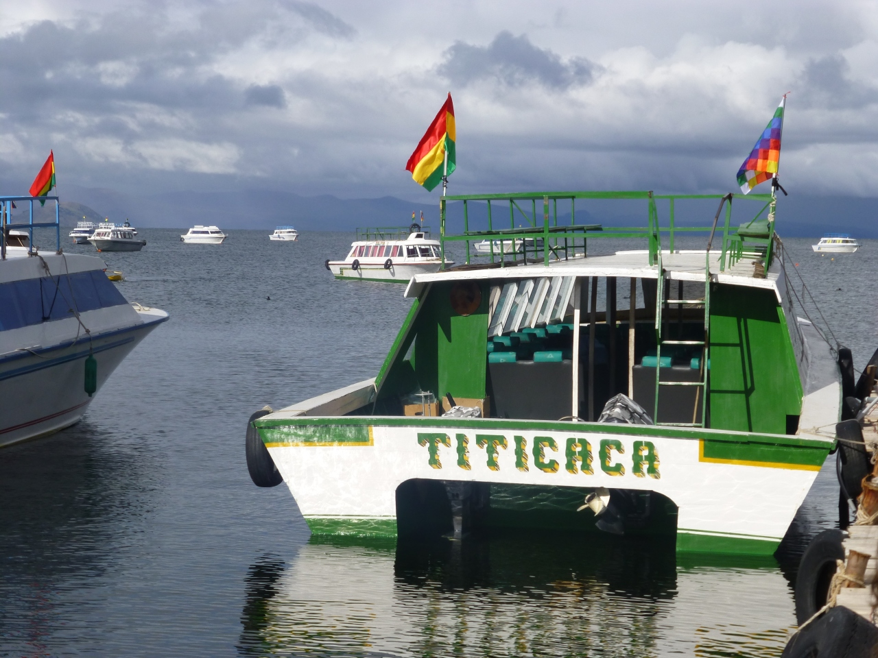 Grensovergang, Titicacameer & deAndescondor