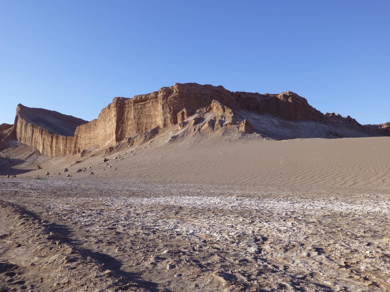 Zweten in de Atacamawoestijn