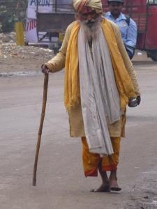Straatbeeld Jhansi.