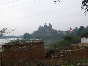 Het Govind Mandir paleis in Datia.