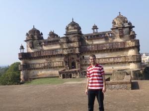 Voor de citadel (Jahangir Mahal).