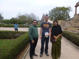 Met Rahud en Jyoti.