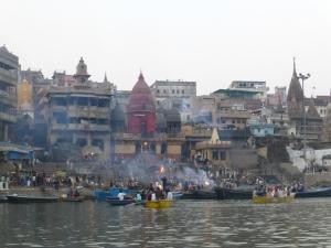 Een van de ghats.