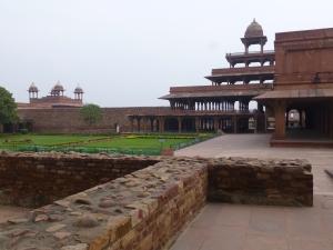 Beeld uit Fatehpur Sikri.