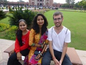 Met Reeta en Shweta.