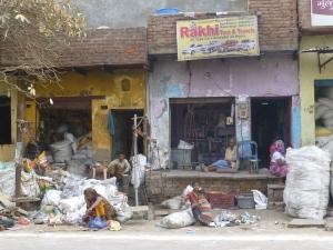 Terug in Agra.