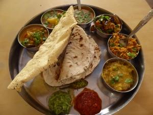 Wat een heerlijke thali