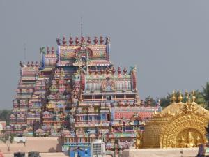 Tempel in Srirangam.