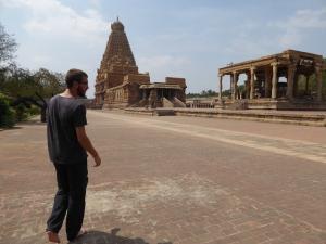 De tempel in Thanjavur.