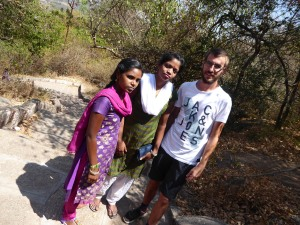 In Mysore met Arpitha en Nikitha.
