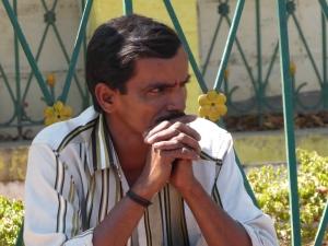 Een Indiër in Mysore.